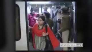 Download Indian metro introduces drunk test to stop fighting on trains Video