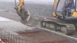 Download Building a New Cow Shed (23) - Pouring and Tamping Concrete. Video