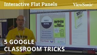 Download 5 Google Classroom Tricks You Will Want to Know with Matt Miller (MACUL) Video