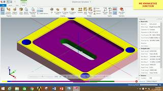 Download MILLING OPERATIONS IN MASTERCAM 2018 ||Milling operations in MASTERCAM 2018 in Hindi. Video