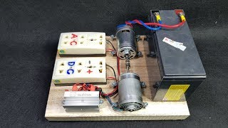 Download How to make 220v 50W Dynamo Generator Using 775 Motor Video