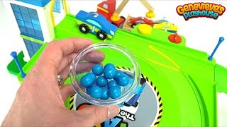 Download Learn Colors and Counting with Wooden Cars and Surprise Toys! Video