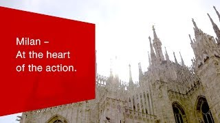 Download Milan - At the heart of the action. Video