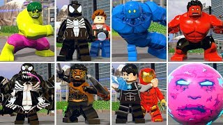 Download All Character Transformations in LEGO Marvel Super Heroes 2 Video