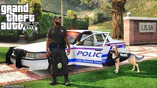 Download GTA 5 MODS LSPDFR 1006 - K9 PATROL!!! (GTA 5 REAL LIFE PC MOD) Video