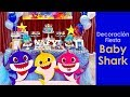 Download Decoracion baby shark party Video