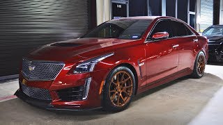 Download FASTEST V3 CTS-V in THE COUNTRY vs Kenne Bell GT500 & two 800+hp Hellcats!!! Video