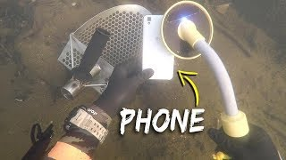 Download Metal Detecting Underwater for Lost Jewelry and Money! (Scuba Diving) | DALLMYD Video