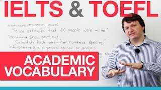Download IELTS & TOEFL Academic Vocabulary - Verbs (AWL) Video