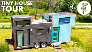 Download Modern High-End Tiny House with XL Kitchen & Rooftop Deck Video