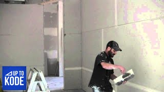 Download How the Pro's Mix Drywall Mud and Apply Tape (#2014) Video