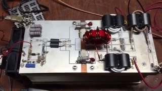 Download Freescale 2 x blf188xr amplifier. 2kw pep 1.8-54mhz Video