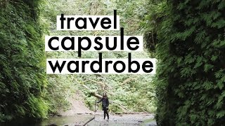 Download What I Wore on a Camping Road Trip | Travel Capsule Wardrobe | Alli Cherry Video