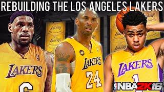 Download NBA 2K16 MyLEAGUE: Rebuilding the Los Angeles Lakers! Video