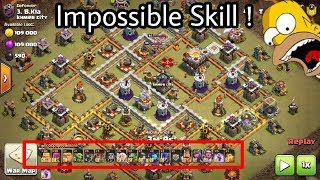 Download WTF War😂😂 Barbarian Archer Impossible Destroy 3 star Th11ax Video