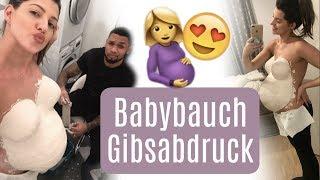 Download Gipsabdruck vom Babybauch ♡ Team Harrison Video
