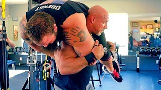 Download The Greatest Wrestler Bill Goldberg - Returned to the Powerful Training!!! Video