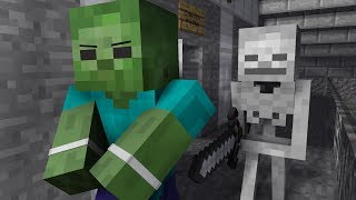 Download Zombie Life 4 - Minecraft Animation Video