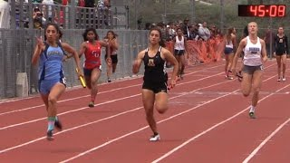 Download 2015 Track - CIF-ss Prelims - D1 - Girls 4x100 Relay (5 Heats) Video