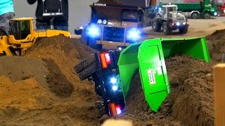 Download AWESOME RC TRUCK ACTION! CAT! MB Arocs! MAN! Scania! at Stonebreaker-Area! Video