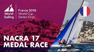 Download Full Nacra 17 Medal Race - Sailing's World Cup Series Final | Marseille, France 2018 Video