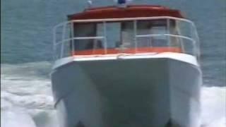 Download GMD - 8m Sea Rescue Catamaran - Twin Volvo Sterndrive 34 Knots Video
