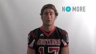 Download Contra Costa County Football Players' NO MORE PSA Video