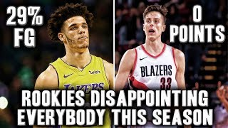 Download 5 NBA Rookies Disappointing Everybody This Season | Lonzo Ball Playing Historically Bad? Video