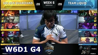 Download Golden Guardians vs Team Liquid | Week 6 Day 1 S8 NA LCS Summer 2018 | GGS vs TL W6D1 Video