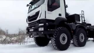 Download Русский Trakker: ″паровоз″ на бездорожье Video