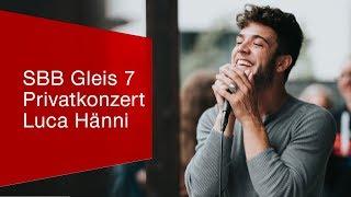 Download Privatkonzert Luca Hänni @SBB Gleis-7-Gewinnerin. Video