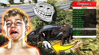 Download DEGOUTER UN GAMIN DES MODS MENU #2 - GTA5 TROLL & RAGE Video