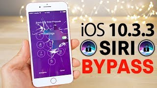 Download New Siri Lockscreen Bypass on iOS 10.3.3! Disable Cellular Data, Read Texts & More Video