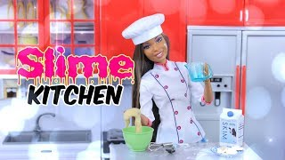 Download SLIME KITCHEN: DIY - How to Make Doll SLIME | Sugar Cookies | Eggs | Coffee | Ice | Lemonade & More Video