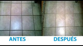 Download Limpiar eficazmente las juntas de los azulejos del suelo y paredes. Video