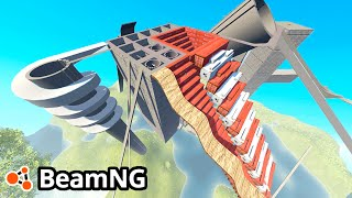 Download BeamNG Drive Creations : DESTRUCTION ARENA! (BeamNG Drive Crashes) Video