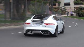Download Jaguar F Type Coupe R - Burnout, Revs & Accelerations!! Video