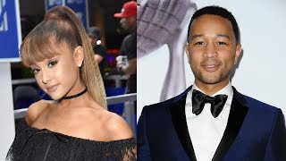 Download Ariana Grande & John Legend Duet ″Beauty & The Beast″ Theme Song for Live-Action Movie Video