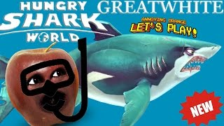 Download Midget Apple Plays - Hungry Shark World: GREAT WHITE! Video
