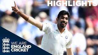 Download Bumrah Brilliant as Curran Gives England Hope | England v India 4th Test Day 1 2018 - Highlights Video