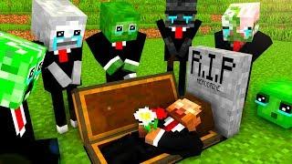 Download Monster School : RIP Herobrine - Minecraft Animation Video