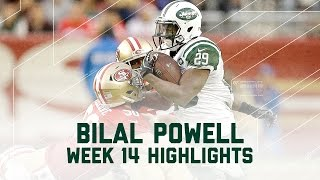 Download Bilal Powell Goes Off for 145 Yards! | Jets vs. 49ers | NFL Week 14 Player Highlights Video
