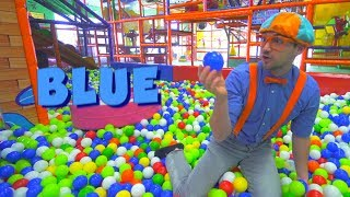 Download Blippi at the Play Place and Learn Colors Compilation | Safe Educational Videos for Children Video