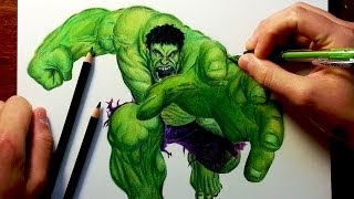 Download THE HULK Before & After Drawing Video