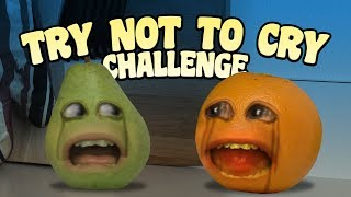 Download Annoying Orange - Try Not to Cry Challenge Video