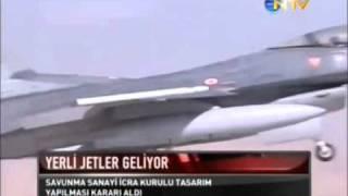 Download Yerli savaş uçağı üretilecek Video
