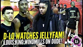 Download Jelly Fam JQ Shows Out for D'angelo Russell! Louis King Windmills on Defender! Video
