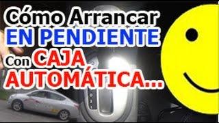 Download Cómo arrancar en pendiente con CAJA AUTOMÁTICA - Aprende a conducir bien. Video