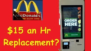 Download McDonald's Automated Cashier Demo Video $15 an Hour Replacement Video