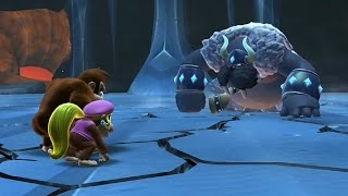 Download Donkey Kong Country Tropical Freeze - All Bosses Video